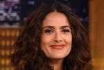 Salma Hayek Visits 'The Tonight Show Starring Jimmy Fallon'