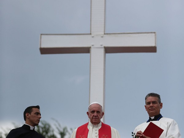 Pope Francis Makes Historic Trip To Cuba