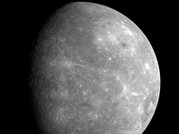 NASA's Messenger Spacecraft Captures Mercury