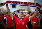 A Costa Rican Shows Pride for his Country