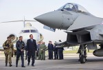 The Prime Minister Visits RAF Northolt Ahead Of The Strategic Defence And Security Review
