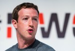 Mark Zuckerberg attendes Mobile World Congress 2015