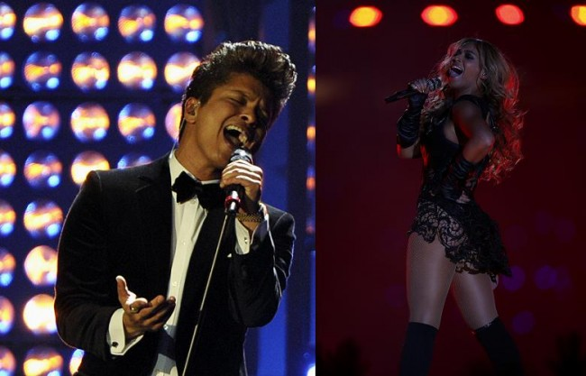 Will Bruno Mars Look as Good as Beyonce did on Super Bowl Sunday?
