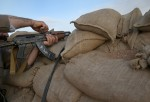 Kurdish Forces Hold Frontline Positions Against ISIS In Northern Iraq