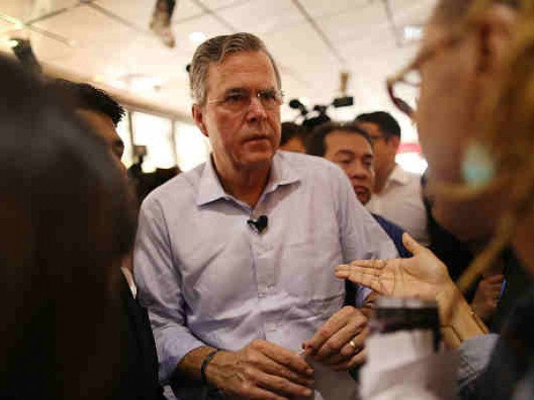 Jeb Bush Holds Meet And Greet At Miami-Area Restaurant