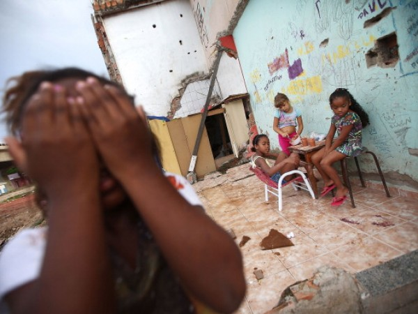 Government Construction in Rio Favela Affects Children's Health
