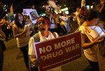 Activists' Caravan Arrives In New York Calling For End Of Drug War In Mexico