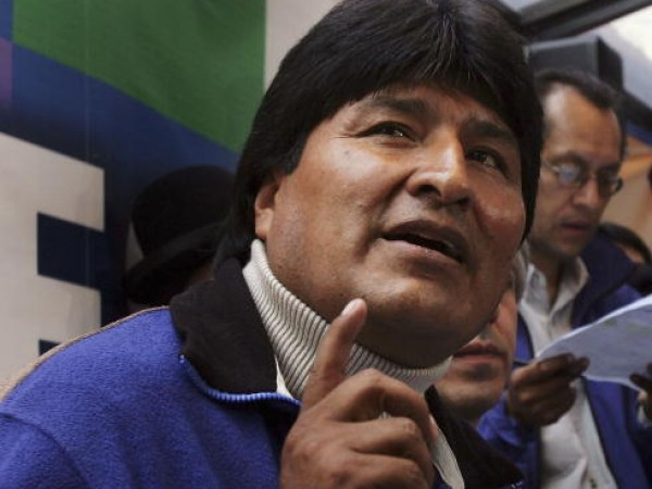 President-elect Evo Morales Holds News Conference In La Paz