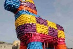 Giant Pinata Brakes Guinness World Record