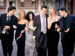 Cast Members Of NBC's Comedy Series Friends Pictured (L) To R : David Schwimmer As Ross