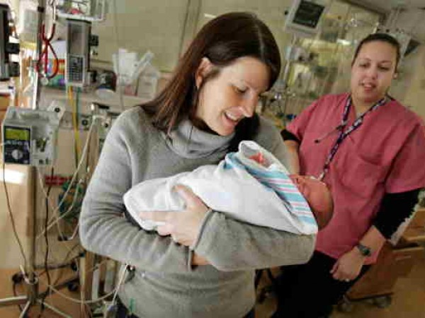Newborns Receive Medical Care In Neonatal Intensive Care Unit