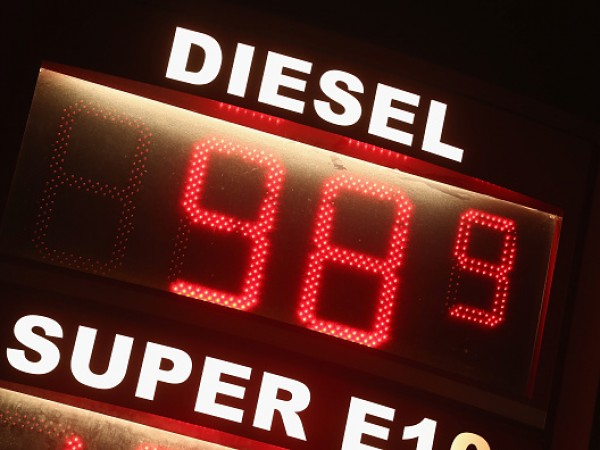 Diesel Price Drops Below One Euro