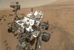 Mars Curiosity Self Portrait