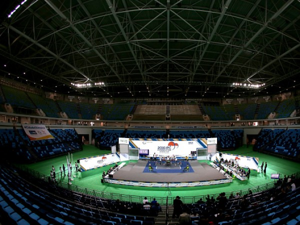 2016 IPC Powerlifting World Cups - Aquece Rio Test Event for the Rio 2016 Paralympics