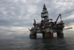 Oil Rigs Off Coast Of Rio de Janeiro