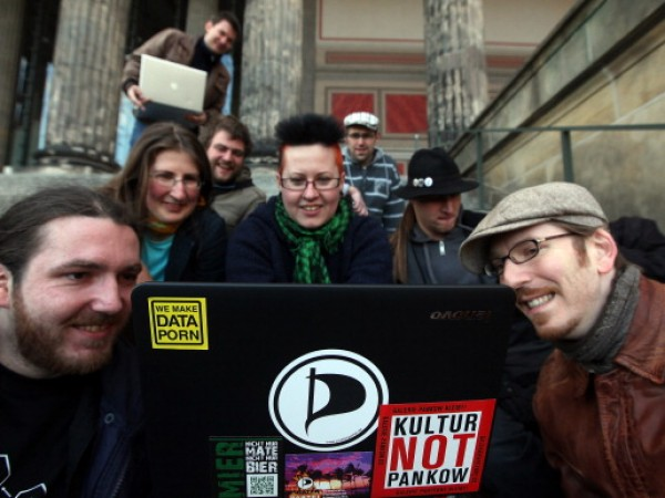 Activists Protest Internet Copyright Restrictions