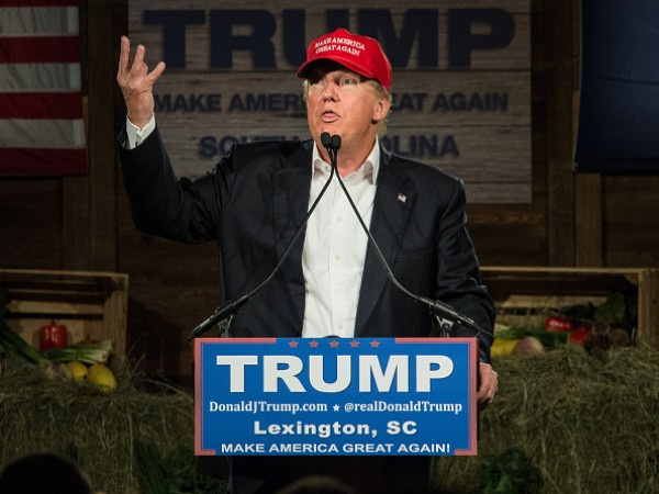 Donald Trump in South Carolina