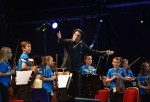 Children Perform With The Simon Bolivar Symphony Orchestra In The Sistema Scotland Big Concert