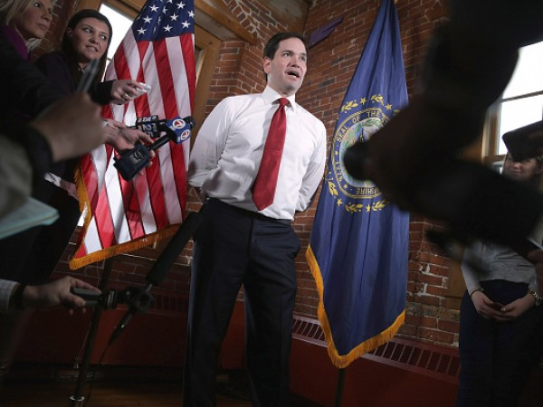 Republican Presidential Candidate Sen. Marco Rubio (R-FL) Campaigns In New Hampshire