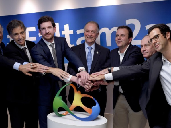 Press Conference Marking Two Years to Go to the Rio 2016 Olympics Opening Ceremony