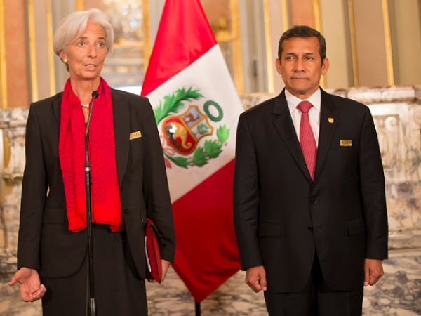 IMF Director Praises Peru Economic Policies