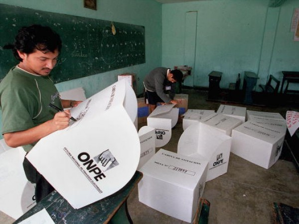 Peru Prepares for Runoff Presidential Election