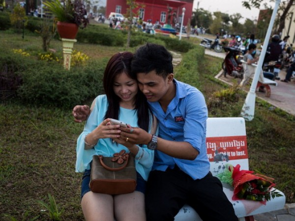 Cambodia Celebrates Valentine's Day