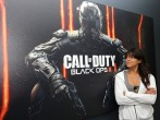 Michelle Rodriguez Plays Call Of Duty: Black Ops 3 Beta From Treyarch Studio