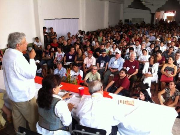 Andres Manuel Lobez Obrador, Amlo in event in Merida, Yucatan