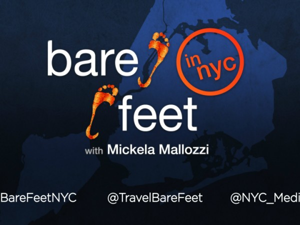 Bare Feet in NYC