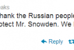 WikiLeaks Tweet On Snowden Asylum