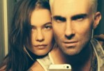 Adam Levine Goes Blond