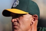 Bob Welch at an Athletics Game