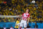 Brazil and Croatia match at the FIFA World Cup