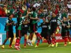 Mexico vs. Croatia 2014 World Cup Soccer