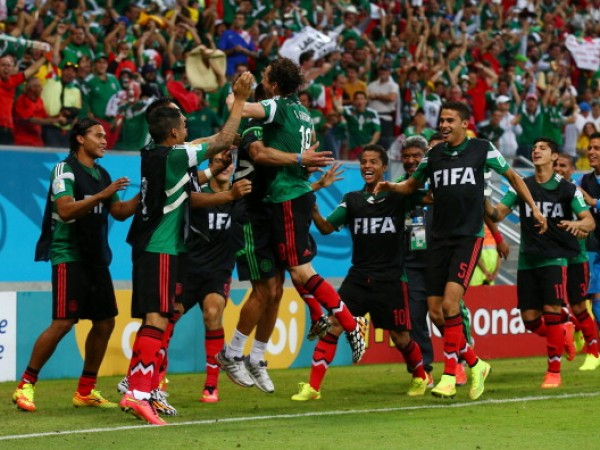 Mexico vs. Croatia 2014 World Cup Soccer