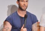 Singer/actor Adam Levine