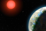Possible exoplanet Gliese 581-g