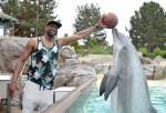 Dwayne Wade at Sea World