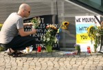 Makeshift Memorials Built For Malaysia Air Lines Crash