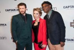 'Captain America: The Winter Soldier'with Chris Evans, Scarlett Johansson, Samuel L. Jackson