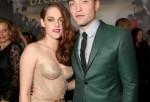 Twilight Breaking Dawn - Kristen Stewart and Robert Pattinson