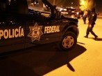 Mexican police investigate a violent incident on March 21, 2010 in Juarez, Mexico.
