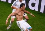 Alvaro Morata and Cristiano Ronaldo