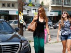 Sofia Vergara spotted with her Mercedes-Benz S Class on June 29, 2014 in New Orleans.
