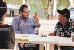 Former Michoacan mayor's son meeting with Servando Gomez, or 'La Tuta,' Leader of the Knights Templar cartel