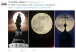 The Top 10 August 2014 Supermoon Photos Shared on Social Media