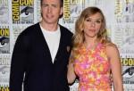 Chris Evans; Scarlett Johansson