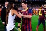 Antonella Roccuzzo, Lionel Messi, Thiago Messi